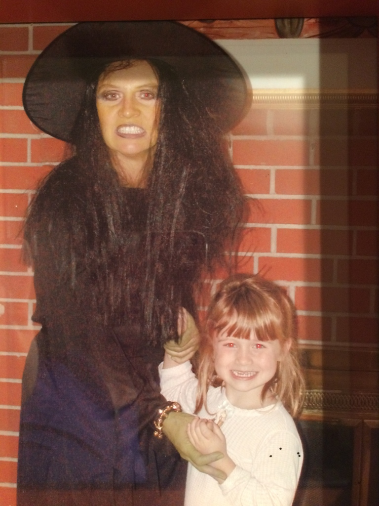 Kindergarten at Terra Linda. I remember: Bridgette was so proud to be the daughter of the wicked witch.